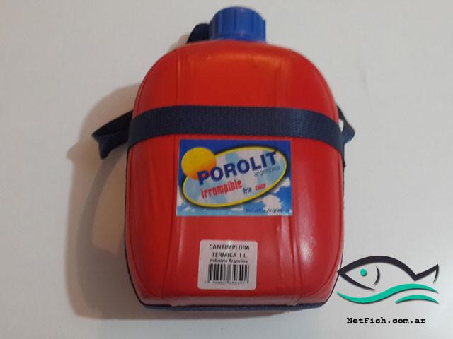 Cantimplora térmica irrompible Porolit 1litro
