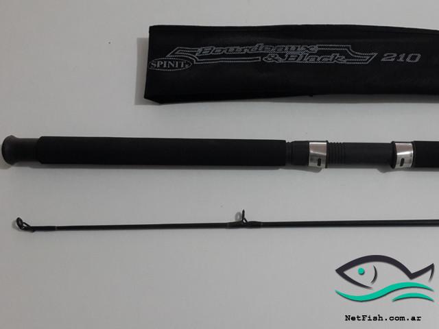 Caña spinit bourdeaux & black 210