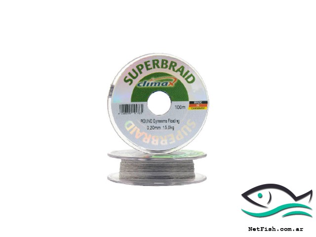 multifilamento superbraid climax round.